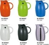 Edelstahl-glasbedecktes Plastikvakuum Isolierkaffee-Krug-PGP