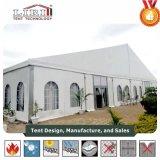 Alta Qualidade Liri 30m de largura igreja Igreja tenda com janela e porta de vidro para os eventos da Igreja em África