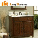 Oak solido Wooden Bathroom Cabinet da vendere (LB-LX2051)