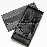 Горяч-Продающ установленный Cufflink носового платка Silk связи 100% для людей