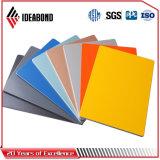Ideabond 벽 장식적인 파란 색깔 알루미늄 실내 위원회