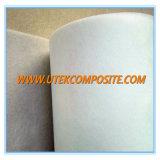 Épaisseur 0,3 mm Tissu de fibre de verre lisse pour séparateur de batterie