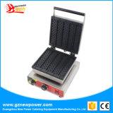 Gofre rectangular que hace la máquina para el equipo de catering con acero inoxidable