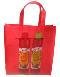 튼튼한 포장 BOPP에 의하여 박판으로 만들어지는 비 길쌈된 직물 끈달린 가방