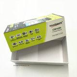 Rectángulo de regalo de la cartulina para los productos Packagings de Digitaces