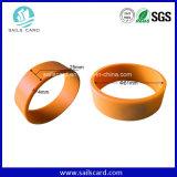 SilikonRFID Wristband des Chip-Ntag203 für Zugriffssteuerung/Swimmingpool