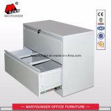 Armario de almacenamiento de la presentación de Metal barato lateral de acero de bloqueo de seguridad de archivos de Office Archivador de carpetas