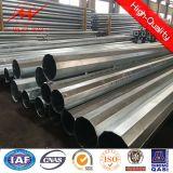 Übertragungs-Zeile Stahlröhrenenergie Pole