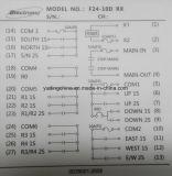 10 Übermittler-und Empfänger-industrielles drahtloses Fernsteuerungs der doppelte Geschwindigkeits-Tasten-F24-10d