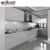 Welbomの白い木製の台所デザイン