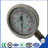 Venta caliente! Manómetro de presión de 100mm con acero inoxidable