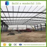 Drenaje prefabricado de los materiales de la vertiente de la granja avícola del diseño del edificio de la estructura de acero