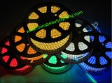 220V 60LED SMD5050 RGB flexibles TIRA DE LEDS de ETL