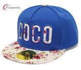 Bordado com chapéu popular popular do Snapback