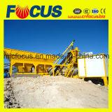 25m3/H draagbare Concrete het Groeperen Installatie, Mobiele Concrete het Groeperen Yhzs25 Installatie