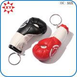 Цепь перчаток бокса высокого качества кожаный ключевая