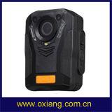 GPS에서 건축되는 Ambarella A7 IP65 야간 시계 IR 1080P 경찰 바디에 의하여 착용되는 사진기
