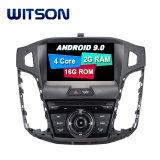 Processeurs quatre coeurs Witson Android 9.0 DVD de voiture GPS pour Ford Focus 2012-2014 construit en fonction OBD