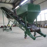 50kg de Vrachtwagen die van zakken de Mobiele Transportband van de Riem/Materiële Hangdling laden die Apparatuur vervoeren