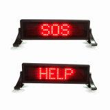 Segno gentile del messaggio di parole LED della mini del parabrezza di telecomando di Mld-O735-M (MLD-O106-M) IR di aspirazione della tazza strada dell'automobile