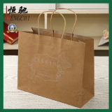 Bianco riciclato/Brown/nero/verde/arte/sacchetto di acquisto sacchetto carta patinata/del Kraft per i vestiti/abito/regalo