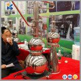 Huile d'Orange presse froide Bho extrait d'huile de pin Tube distillateur d'huile essentielle de la machine de cuivre
