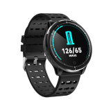 Dernière mode hommes montre Bluetooth du P71 1.22  Grande Ronde couleur écran IPS Hommes montre Bluetooth du mode Multi-Sports GPS tracker