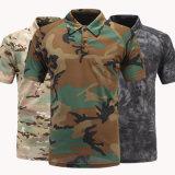 L'impression personnalisée de la conception de gros Polyester Camouflage polo t shirts
