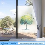 Atracción electroestática de película de PVC decorativa ventana