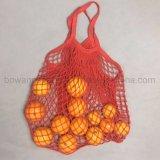 Fourre-tout d'épicerie réutilisables Mesh sac de coton commercial net