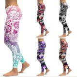 Impression 3D personnalisé Skinny femmes Leggings Pantalons de sport d'usure