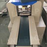 O PLC controla a máquina de empacotamento automática do bloco do fluxo plástico do alimento