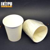 Tazze di carta 12oz del caffè caldo biodegradabile di PLA della superficie 100% del Matt