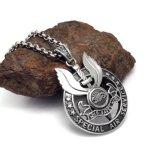 Complementos pendientes del collar del acero inoxidable de la vendimia 316L