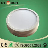 Haute performance ronde extérieure en plastique 6W de lampe de panneau de DEL