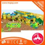 Labyrinthe mou galvanisé de jeu de cour de jeu d'enfants d'intérieur de zone