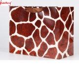 Sacs de cadeau de papier des graines de léopard de mode