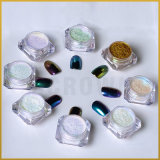 Acrylaurora-Puder, Shell-Nagel-Kunst-Staub-Maniküre-Chrom-Pigment