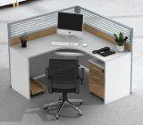 Partition en bois de bureau des meubles 2 de poste de travail moderne de portées (HX-NCD336)