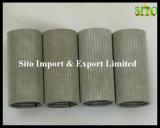 Filtro de acoplamiento tejido 316L inoxidable de alambre del acero