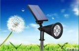 Luz solar ajustable popular del camino del sensor de movimiento