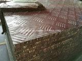 Против скольжения ячеистых алюминиевых панелей для погрузчика полы