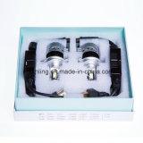 Luz branca dos faróis DC12-24V do mercado de acessórios do diodo emissor de luz Canbus de H7 36W 3800lm 6000k