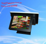 Quad POS cordon de la borne Digital Signage Kiosque