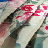 100%Polyester verspreid de Afgedrukte Reeksen van het Beddegoed 75GSM 6PCS