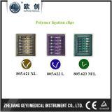 Laparoscopic 2017 Dobladilla-o-Lok los clips de la ligadura del polímero