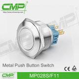CMP kein Nc Anti-Vandale Drucktastenschalter (28mm, Edelstahl, TUV-CER)