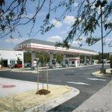 De Bouw van het Benzinestation van het Staal van lage Kosten met Economisch Materiaal
