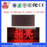 P10 Pantalla de LED rojo simple para pantalla publicitaria