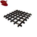 Grade metálica de teto de alumínio, Painel de telhas de teto para uso comercial